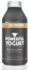 POWERFUL YOGURT DEBUTS IN DRINKABLE FORMAT