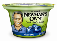 NEWMAN'S OWN GETS INTO THE YOGURT BUSINESS