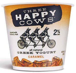 NOT ONE, NOT TWO, BUT THREE HAPPY COWS ARE MAKING YOGURT