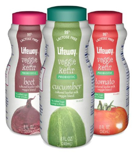 VEGETABLES MEET DAIRY IN NEW DRINKABLE KEFIR