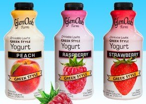 FIBER-ENRICHED, GREEK-STYLE DRINKABLE YOGURTS