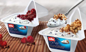 DUAL-COMPARTMENT DECADENT YOGURT