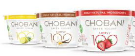 ALL-NATURAL 100-CALORIE STRAINED GREEK YOGURT