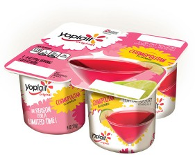 TROPICAL COCKTAIL-FLAVORED YOGURTS