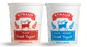 ORGANIC GREEK YOGURT DEBUTS ON WEST COAST