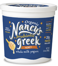 ORGANIC PROBIOTIC GREEK YOGURT