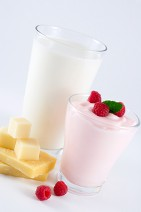 Milk & Yogurt with Fruit